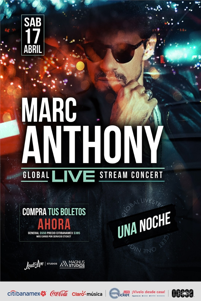 Marc Anthony Streaming Show
